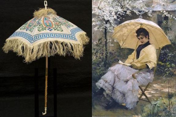 parasol-and-painting